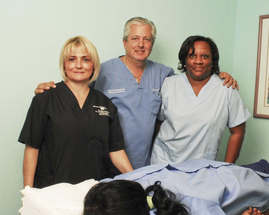 Dr cliff and staff